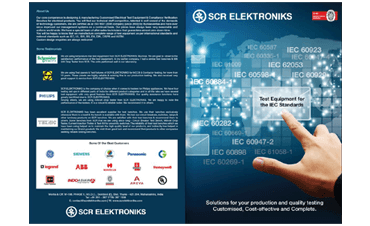 SCR Elektroniks IEC Catalogue
