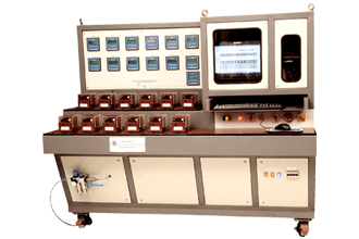 12 Station Overload Relay Test Bench